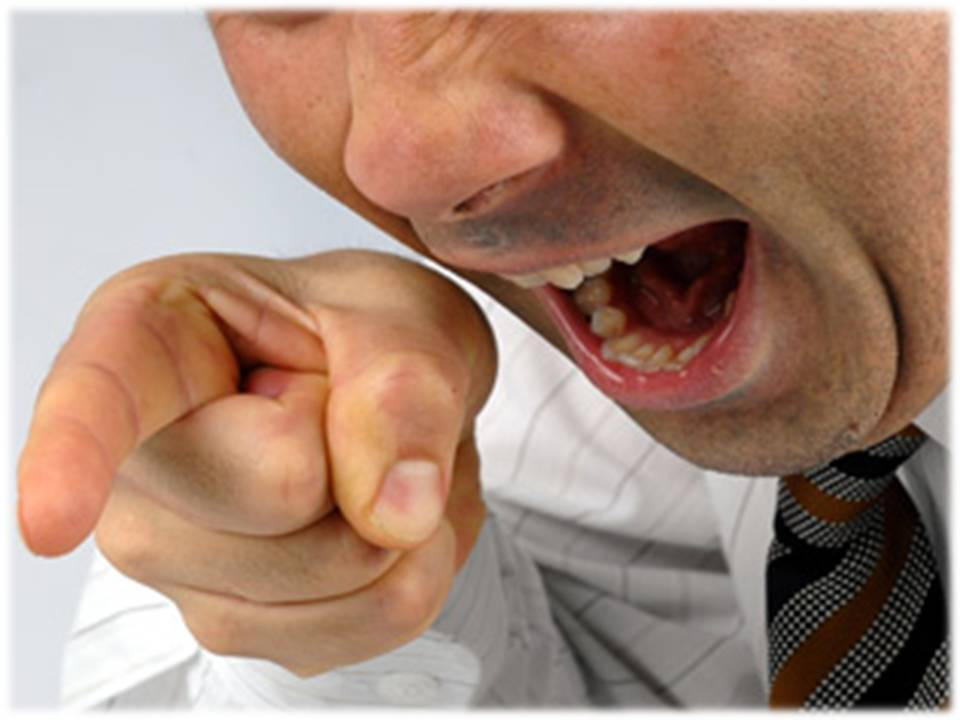 boss yelling