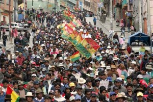 In 2011, in EL Alto, Bolivia, residents protested against the rising cost of fuel.