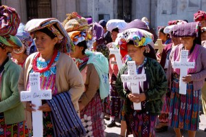 Over 200,000 Guatemalans were killed or forcibly disappeared in a civil war that raged from 1960-1996. Of those victims identified in the U.N.-sponsored Historical Clarification Commission, 83% were indigenous Maya. 93% of these human rights violations were carried out by government forces.
