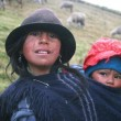 Indigenous Ecuadorian Woman carrying a Child_0.preview