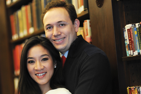 New Deputy Assistant Secretary for International and Foreign Language Education — Clay Pell with his wife Olympian figure skater Michelle Kwan.