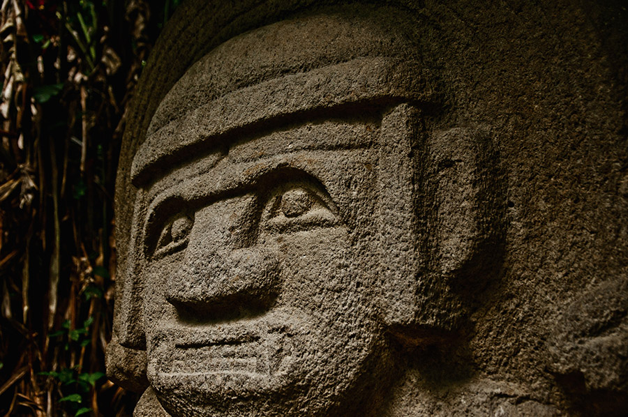 Pre-Columbian Statue in San Agustin