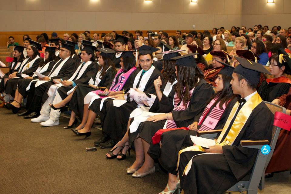 Students at the Center for Mexican Studies Graduation at UT Austin