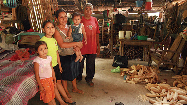 Mexico-family-in-small-home