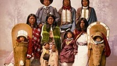 Utes Chief Severo and his family, 1899