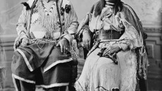 The last King and Queen of the Ute Nation before conquest/Photo info unknown