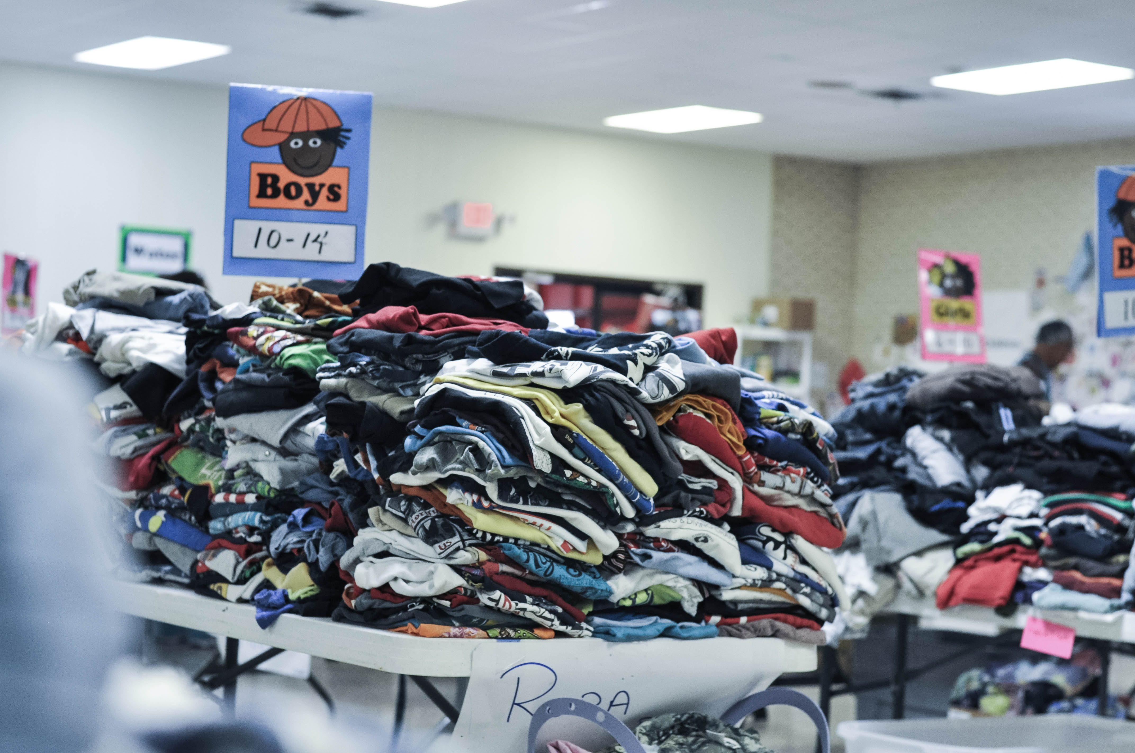 image1 the inspiring work being done to show what jesus would do at the,Childrens Clothes Donations