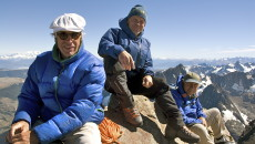 Patagonia's fiercest defenders: Doug Tompkins, Rick Ridgeway, Yvon Chouinard Photos: Conservacion Patagonica