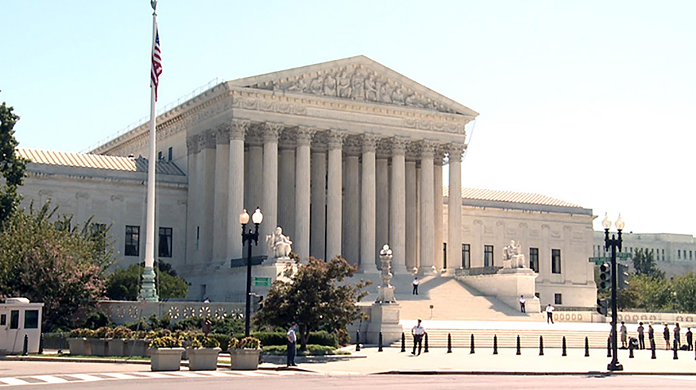 The Supreme Court building in Washington, D.C.