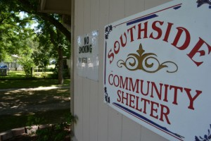 San Marcos' Southside Community Shelter is located on Guadelupe Street in San Marcos. Photo by Jesse Louden/VoiceBox Media