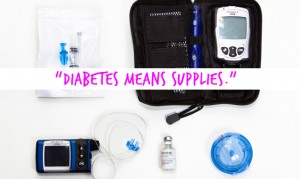 The caption on this image was written by a child who was asked to describe what it means to live with diabetes. (Credit: Brian J. Matis/Flickr)