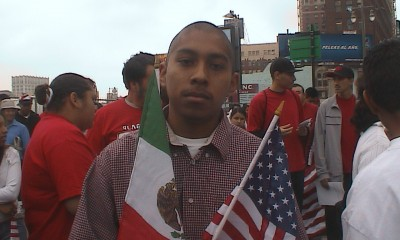 Pedro Magallón in the United States. Photo courtesy Pedro Magallón.