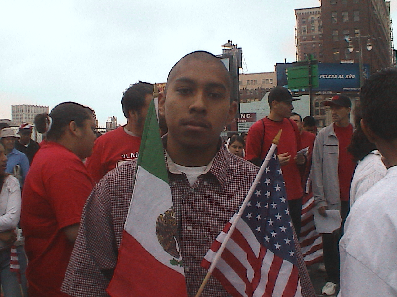 Pedro Magallón in the United States. Photo courtesy Pedro Magallón.