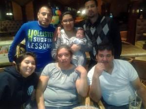 Francisco Elias Fuentes with his family in the United States. Photo courtesy Francisco Elias Fuentes.