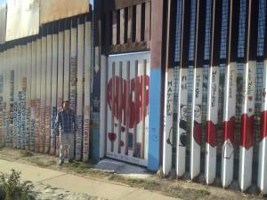 Francisco Elías Fuentes in Tijuana. Photo courtesy Eileen Truax.