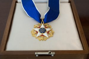 Presidential Medal of Freedom. Photo: Grant Miller