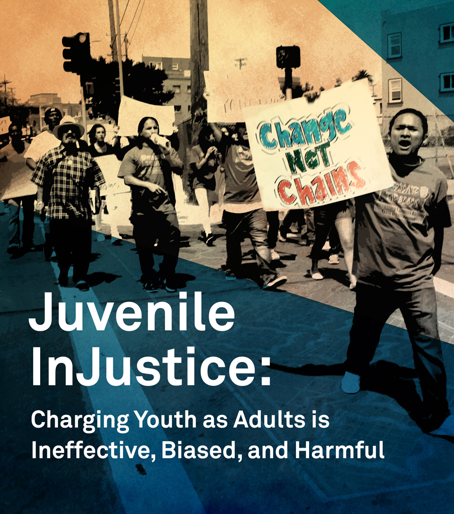"charging juveniles as adults 2 prosecuting juveniles in adult court an assessment of trends and consequences overview fear of out-of-control juvenile crime and a coming generation of ""super-predators,""."